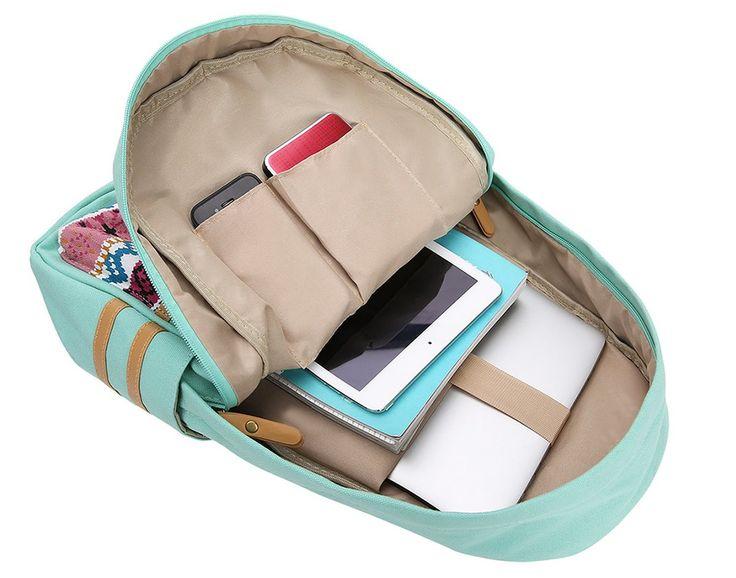 Leaper Canvas Backpacks School Backpack - Lyfie