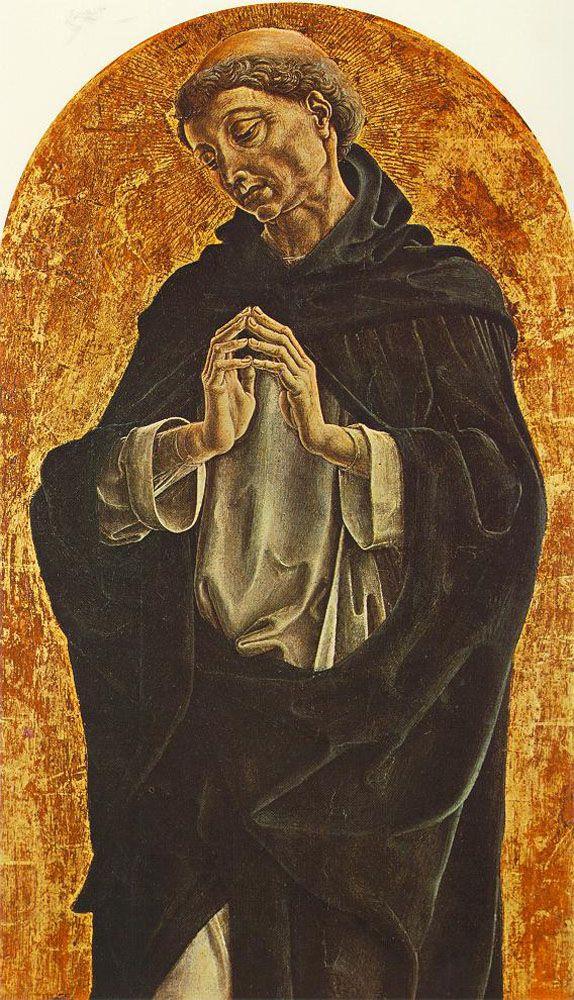 TURA, Cosmè Italian Early Renaissance (ca.1430-1495)_St Dominic 1475