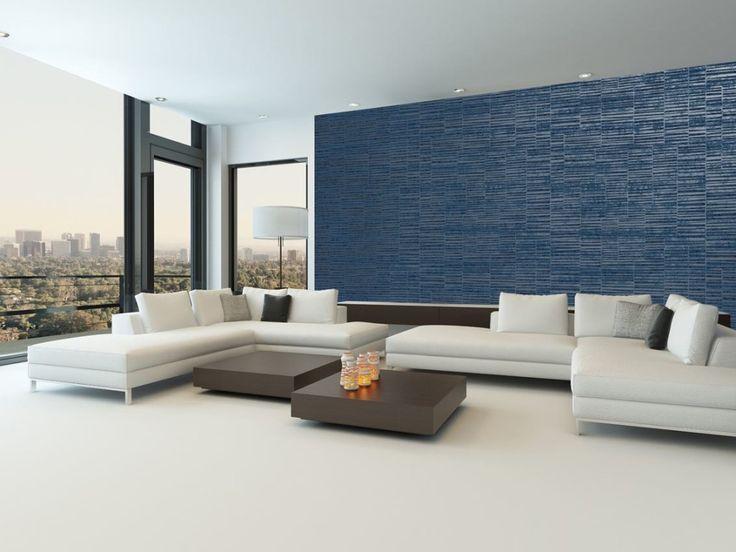 Die besten 25+ blaue Wandverkleidung Ideen auf Pinterest blau - wandgestaltung schlafzimmer effektvolle ideen