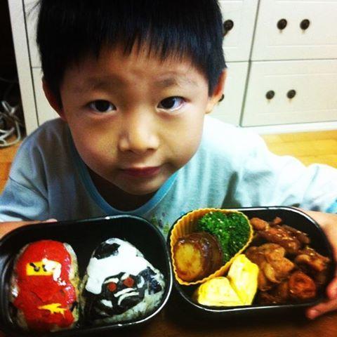 #japnesefood #obento #ninjago