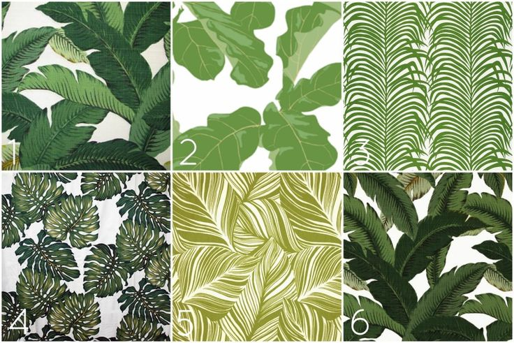 All Things Palm For a bright fresh spring makeover, it would be fun to make a set of pillows, curtains, or shorts (or all 3?) with some big palm frond fabric! I've scoured the internet and found my favorite leafy prints, perfect enough that might feel like you're at the Beverly Hills Hotel. Swaying Palms Aloe: Outdoor fabric $16.95 per yard Tropicali Afternoon: Actually a fiddle leaf fig print! $17.50 per yard Zebra Palm: Linen (must sign in to see price) Kona Kottage Tropical: ...