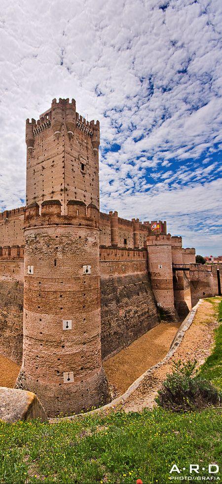 La Mota Castle, Medina del Campo, Spain