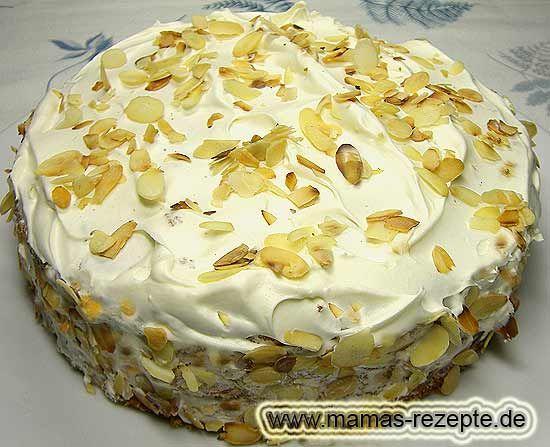 Rezept Kleine Nusstorte auf Mamas Rezepte Homepage