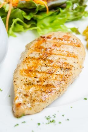 Easy and delicious recipe for lemon pepper grilled chicken breast. Perfect on your George Foreman Grill!
