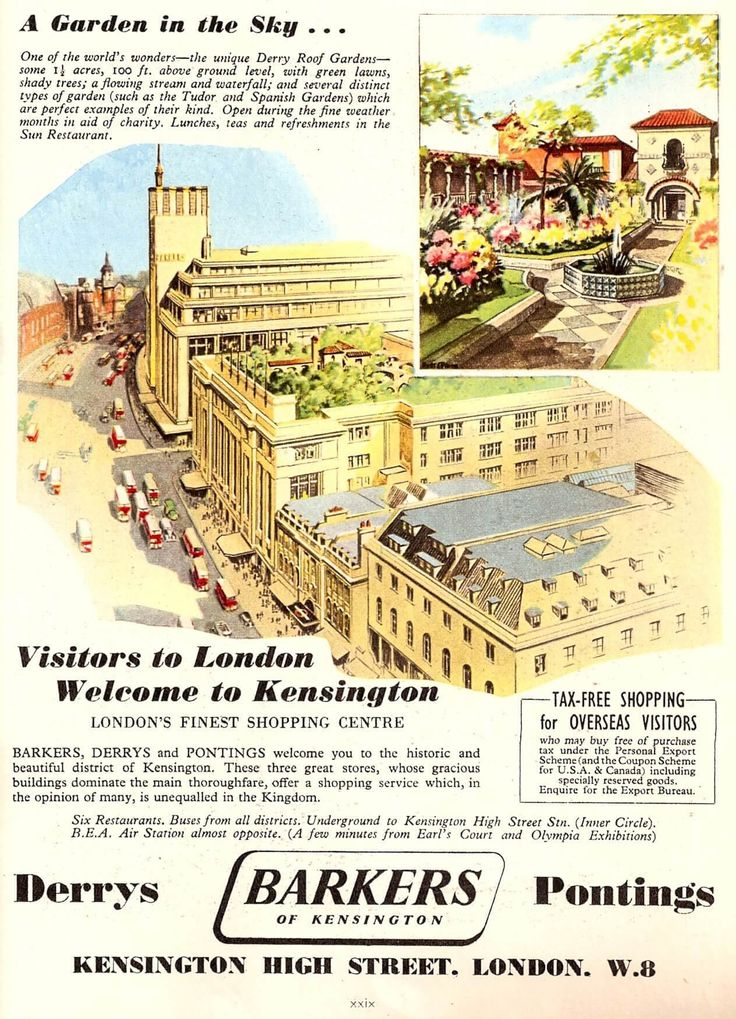 What if I told you that there's a secret garden situated high above one of London's busiest high streets. Cue: Kensington Roof Gardens...