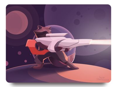 Guardians of the Galaxy. Rocket