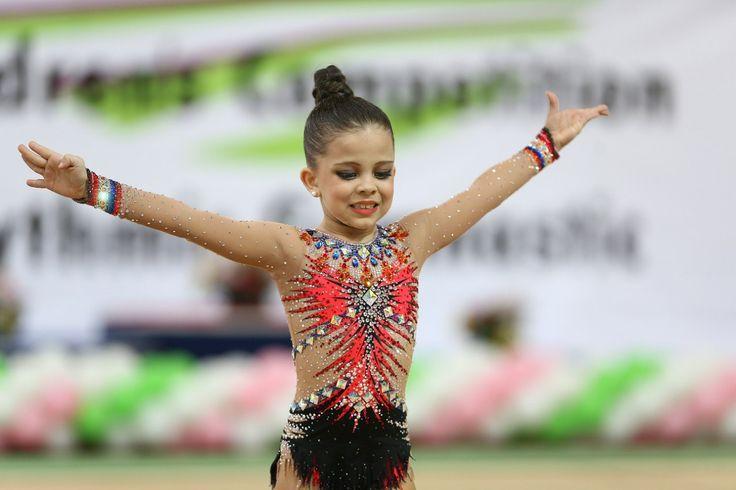 Rhythmic gymnastics leotard   Leotards, Rhythmic