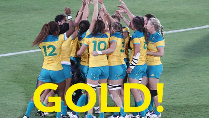 Golden Aussies in sevens heaven | AUS Team | Rio 2016
