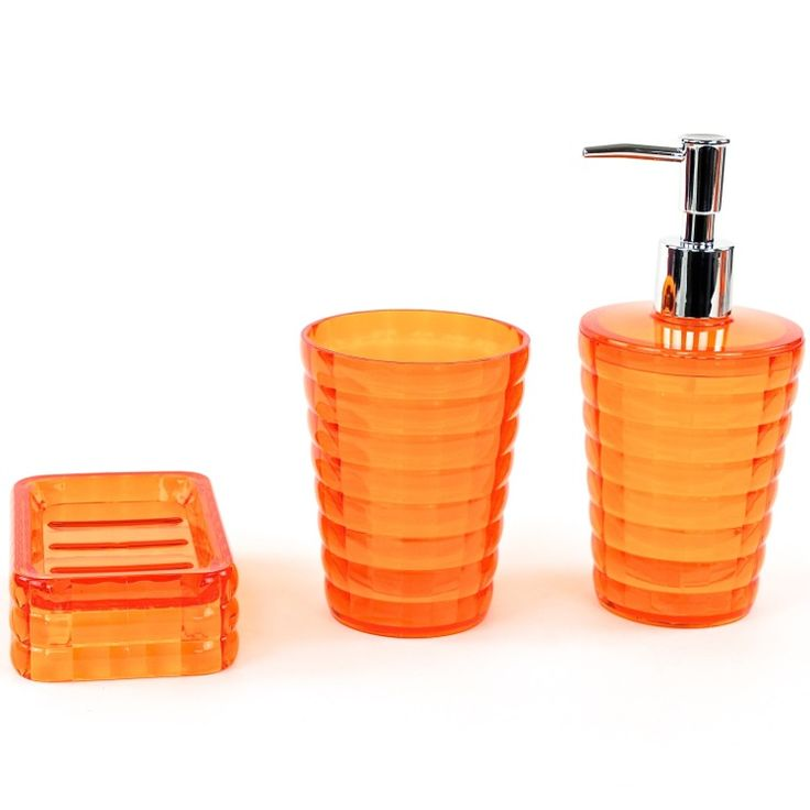 Stylish Bathroom Accessories Set Comes With Soap Dispenser, Soap Dish, And  A Toothrbrush Holder
