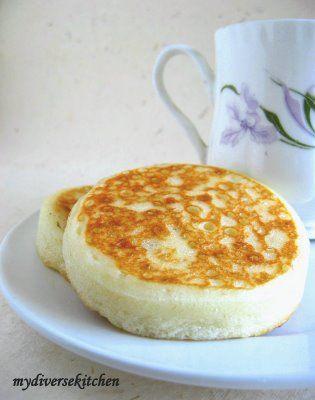 Crumpets, English and English tea time on Pinterest