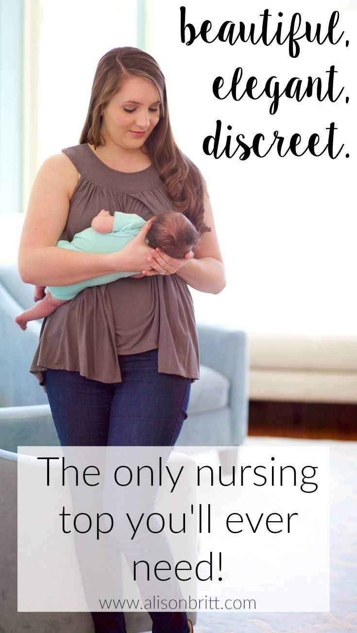 Beautiful, elegant, and SUPER discreet nursing tops, tunics, and dresses from Alison Britt Designs! Made in the USA and so soft! Really, the only nursing top you'll ever need!!