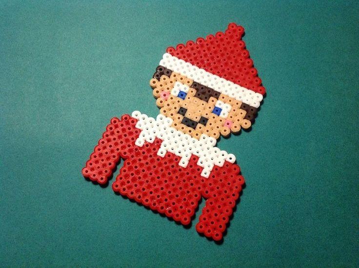 Hama Bead Elf On The Shelf To Be Left On Christmas Eve As