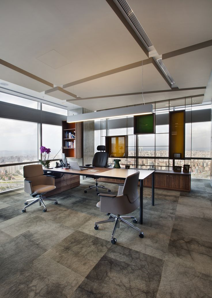 17 best images about interiors offices personal office for Modern corporate office design