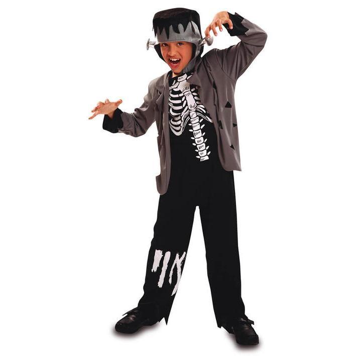 Disfraz de esqueleto Franky para niño
