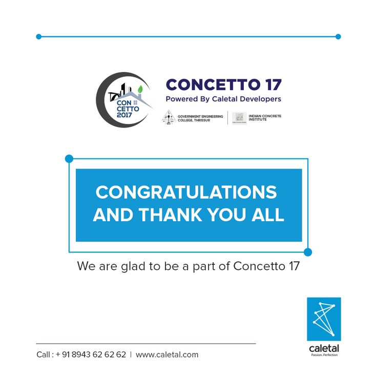 Caletal would like to thank the students and faculty of GEC Thrissur for making Concetto 17 a remarkable and successful event. The range of ideas evolved were profound and spectacular. We believe it was a great experience for all the participants. Congratulations for hosting such an impeccable event.  #construction #civilengineering #engineering #engineer #worldofengineering #college #technology #builders #ideas #students #learning #architecture #teamwork #workshop #designs #eventmanagement