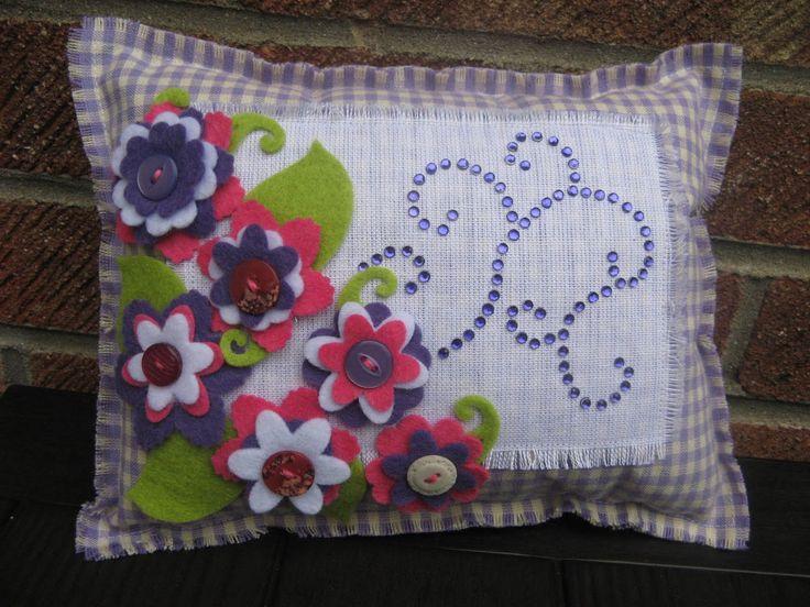 LaceTopDesigns: Handmade Mini Cushion Pillow