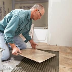 Wondering what's new in tile installation? A tile expert shares his tips for dealing with porcelain, glass and other modern tiles and materials.