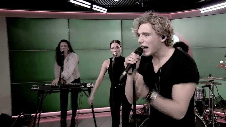 """Copenhagen-based pop singer, Christopher Nissen performing """"Told You So"""" live, from Go' Morgen DK (TV2 Denmark)"""