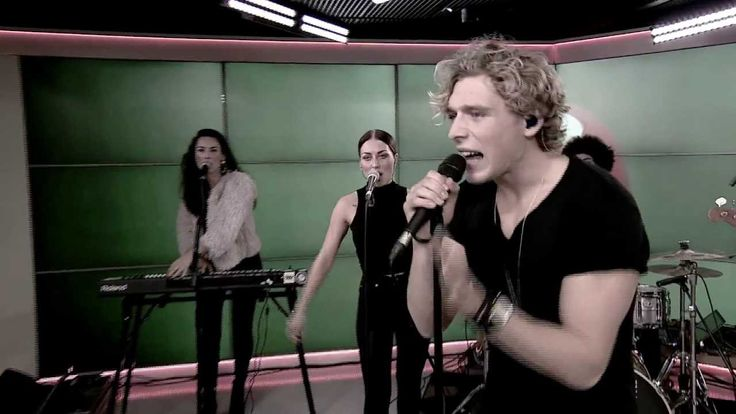 "Copenhagen-based pop singer, Christopher Nissen performing ""Told You So"" live, from Go' Morgen DK (TV2 Denmark)"