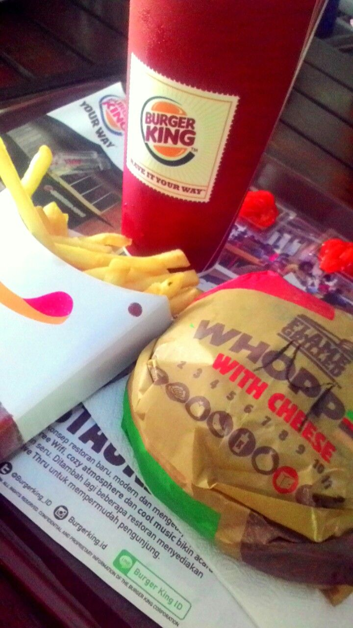 BK is the best burger in the world 🙌🙌🙌😍😍😍