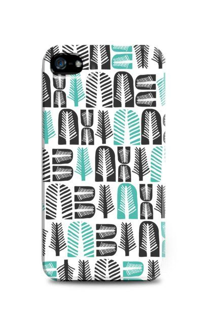 Black and Green Leaves Pattern by The Babybirds. iPhone 4 or 4s case, this unique but simple case with a pattern of simple leaves pattern. Cute case for you phone to protect it from scratch, dust and to keep you on a good mood. http://www.zocko.com/z/JE9a0