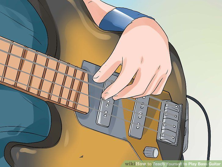 How To Teach Yourself To Play Bass Guitar Bass Guitar Playing Guitar Bass Guitar Lessons