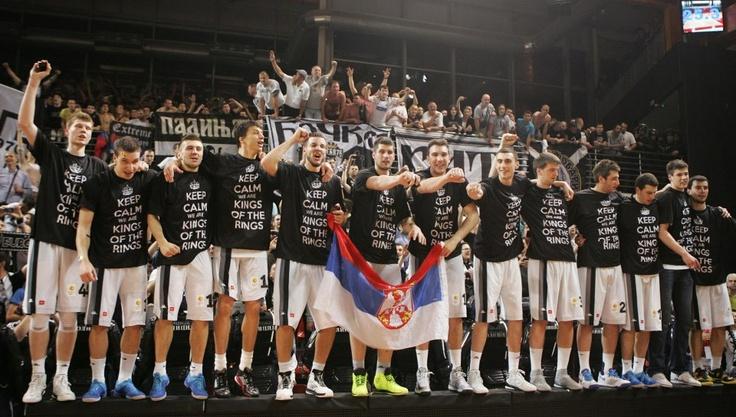 KK Partizan, 2012/13 champions