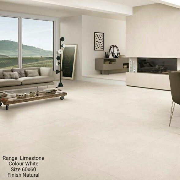 Limestone is a stone effect porcelain tile with a natural finish #tiles #maintenancefree #stoneeffect #stone