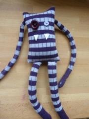 doudou chaussette monstre  lespoisgourmands.wordpress.com