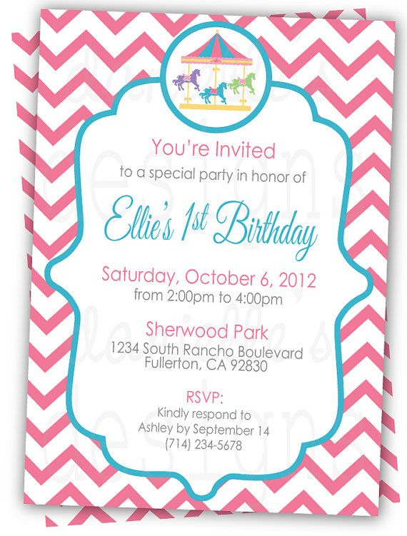 122 best invitations images on pinterest | baptism ideas, cards, Birthday invitations
