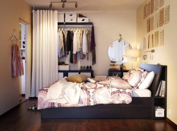 DIY Closet. Could this work for studying abroad?!