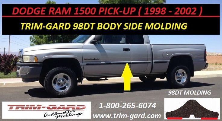 1998 1999 2000 2001 2002 Dodge Ram 1500 Pick Up Body Side Molding Trim Gard Manufacturers The Dodge Ram 1500 Pick Moldings And Trim Dodge Ram 1500 Dodge Ram
