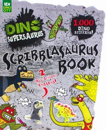 Dino Supersaurus: Scribblasaurus Book by Parragon Books