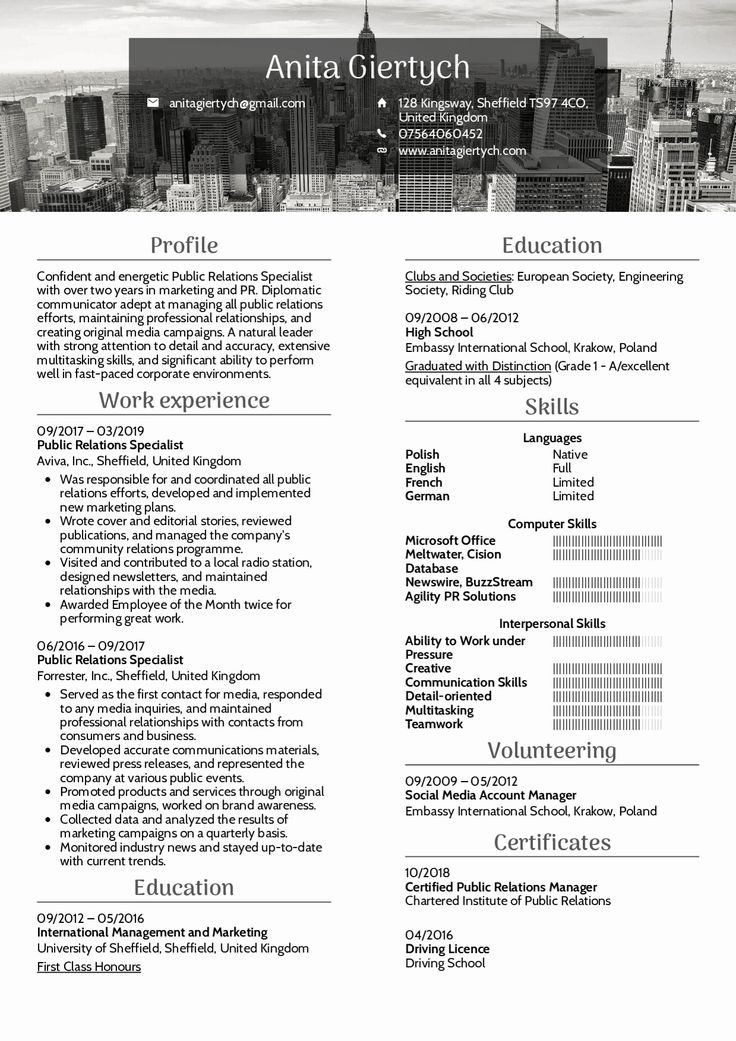 Public Relations Resume Examples Best Of Resume Examples