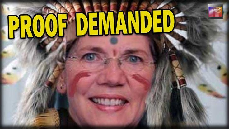 1/25/18 Sen. Elizabeth Warren Claims Cherokee Ancestry. Native Americans Want To...