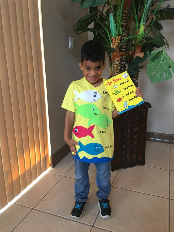 The 25 best dr seuss diy costumes ideas on pinterest dr for One fish two fish costume