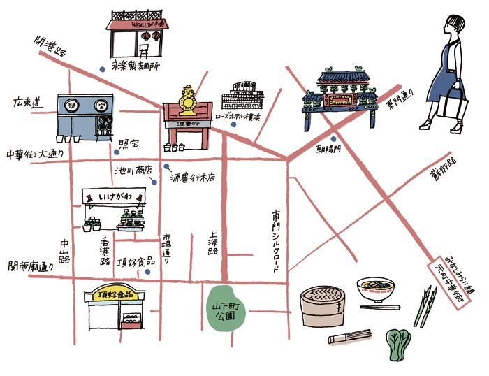 Naho Ogawa - Map of Yokohama