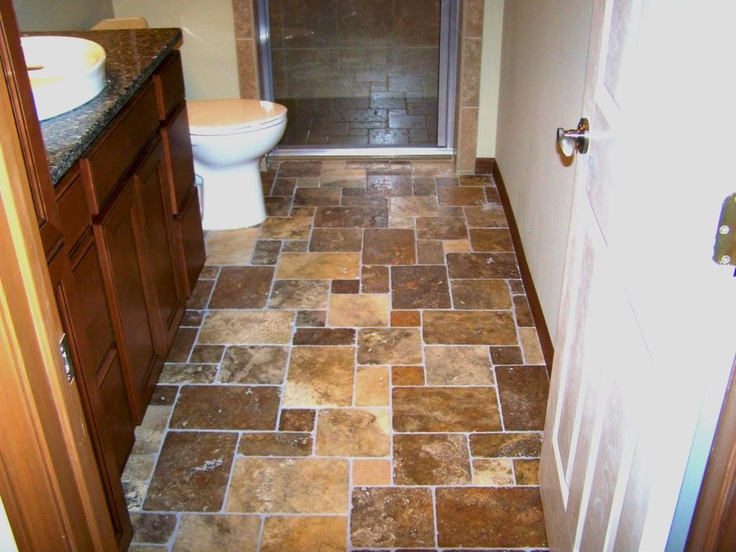 stone bathroom floor wichita ks by blue ribbon construction llc