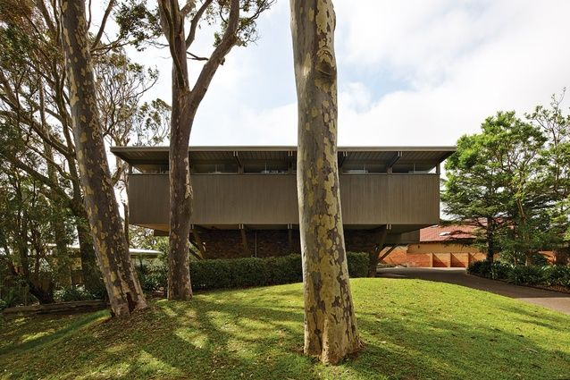 Lyons House (1967) revisited, Robin Boyd