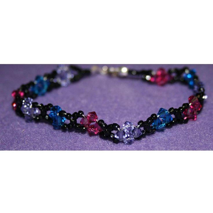 Swarovski Crystal Bracelet by DornanDesigns