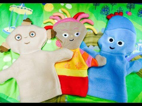 In The Night Garden Makka Pakka, Upsy Daisy and Iggle Piggle Hand Puppets Toys - YouTube