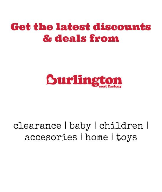 Burlington discount coupon