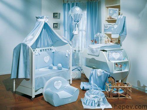 Erkek Bebek Odası Dekorasyon Fikirleri - http://hepev.com/erkek-bebek-odasi-dekorasyon-fikirleri-7856/