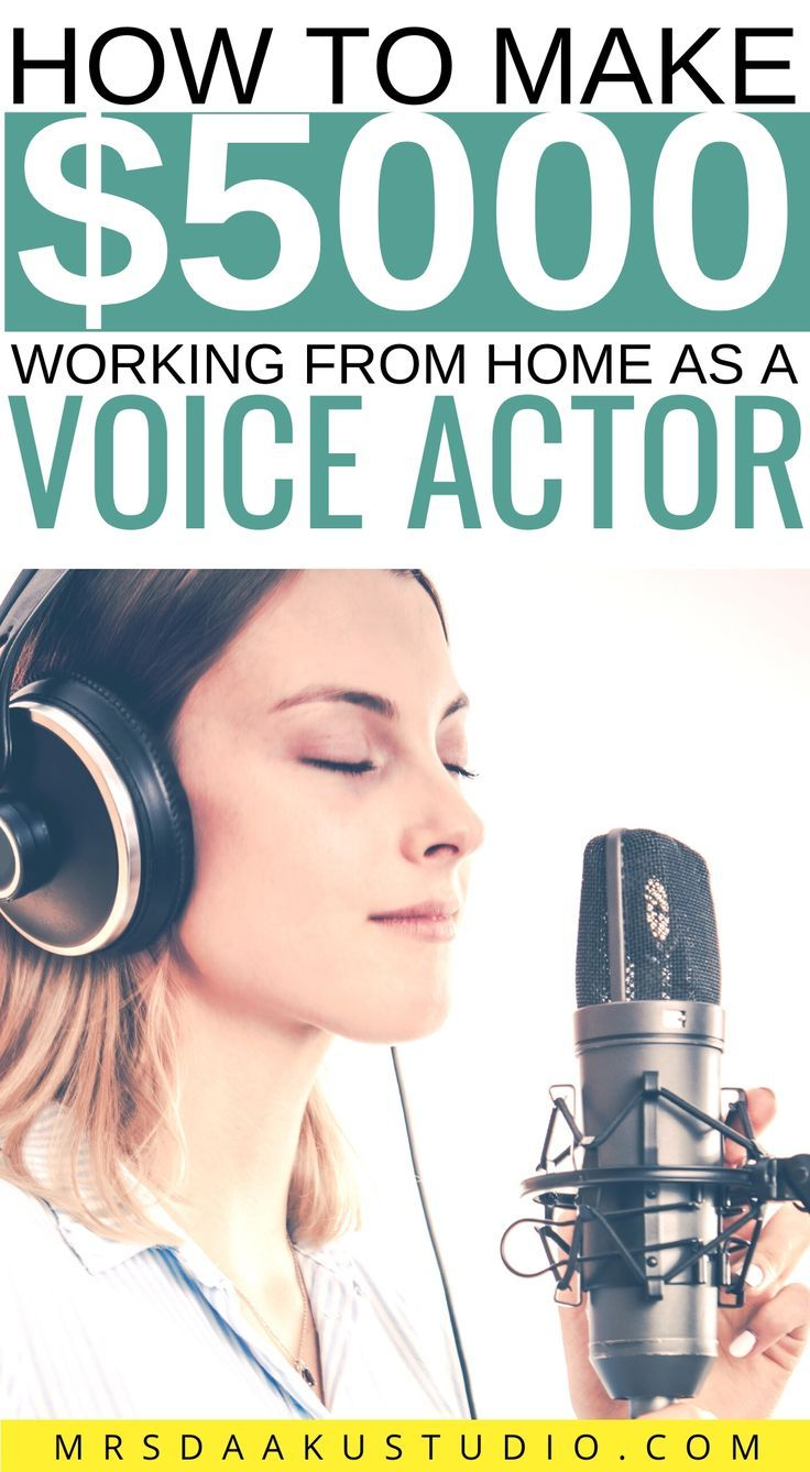 Voice Over Jobs For Beginners From Home Ultimate Guide 101 In 2020 The Voice Acting Tips Easy Online Jobs