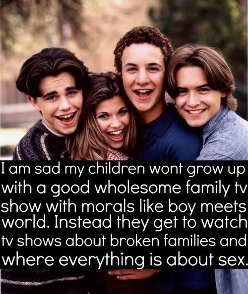 Boy Meets World Confessions