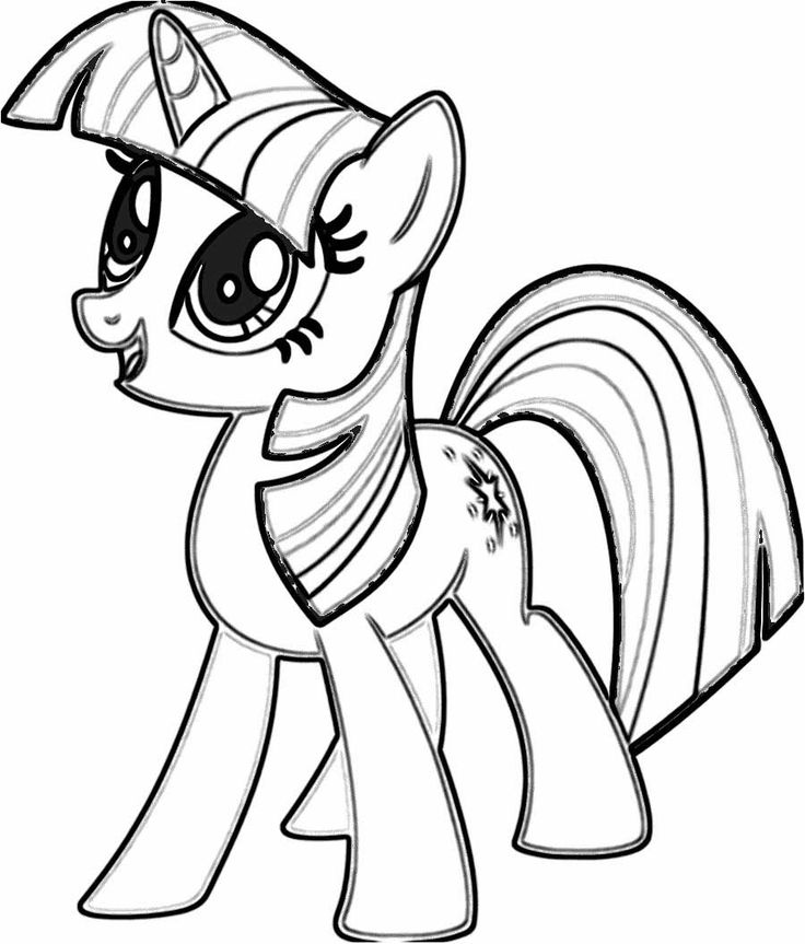 Twilight Sparkle Coloring Page 2 900x1056