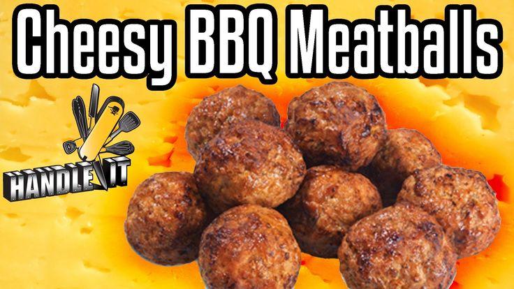 Handle It - Cheesy BBQ Meatballs