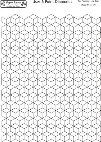 Best English Paper Piecing Images On   Hexagons