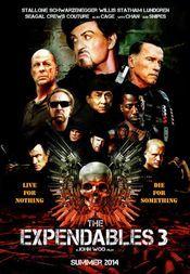 The Expendables 3 (2014) Eroi de sacrificiu 3 - Barney (Sylvester Stallone), Christmas (Jason Statham) şi restul echipei ajung faţă în faţă cu Conrand Stonebanks (Gibson), cel care, alături de Barney, a fondat grupul în urmă cu mai mulţi ani. Sonebanks a devenit cu timpul un traficant de arme fără scrupule, un personaj pe care Barney s-a văzut obligat să îl elimine definitiv... cel puţin aşa a crezut că a făcut. Sonebanks a înşelat moartea, iar acum şi-a făcut o misiune din a pune el capăt…