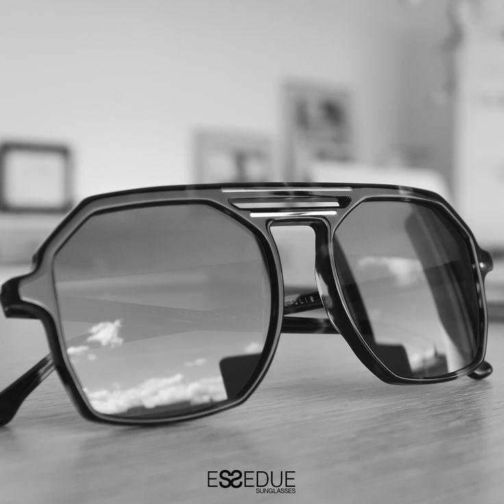 #Essedue #Design #Creativity #Pleasure #Sunglasses  #BlackandWhite #Vintage